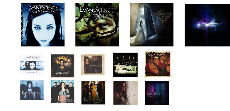 discographie evanescence